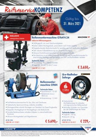 Prospekt Reifenkompetenz CARAT Uhl